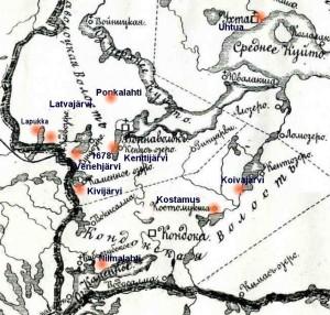 Kartta Lesonen