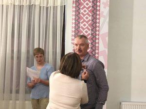 Santeri Lesoselle Karjalan Sivistysseuran ansiomerkki 2018